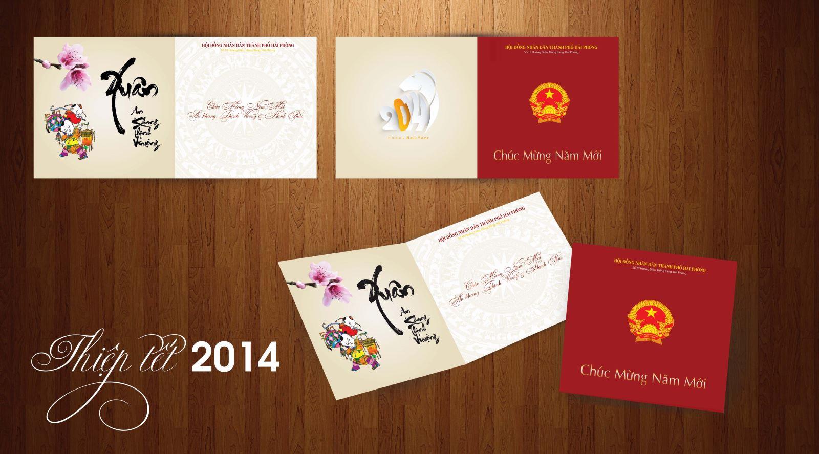 Nơi in thiệp chúc mừng giá rẻ nhất tại Hà Nội