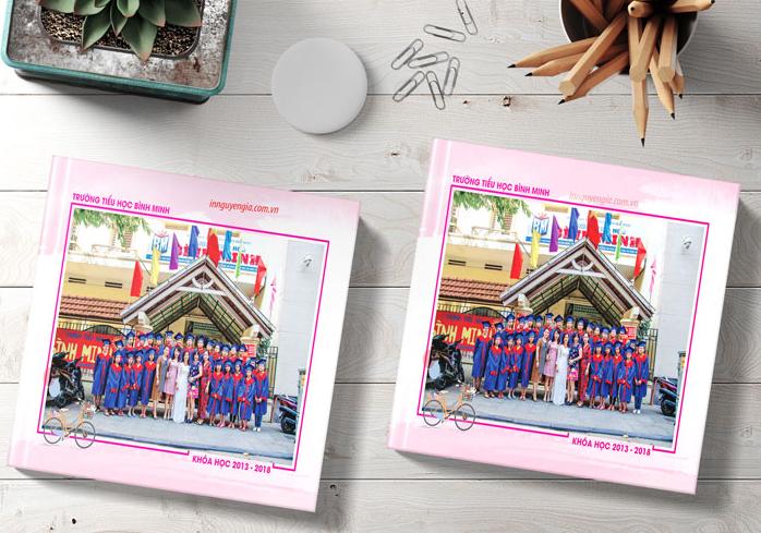 Nhận in kỷ yếu lớp 5 đẹp rẻ bền tại Hà Nội