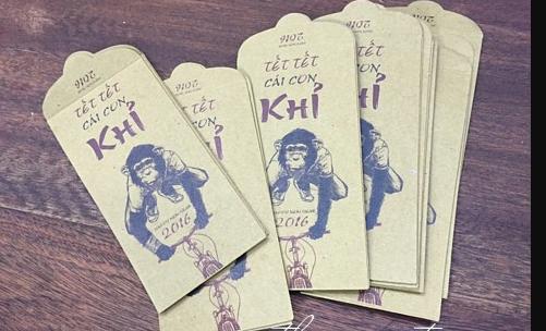 Thiết kế mẫu in bao lì xì tết giá rẻ đẹp mắt nhất nội thành Hà Nội
